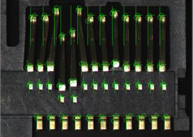 コネクタ端子の位置計測