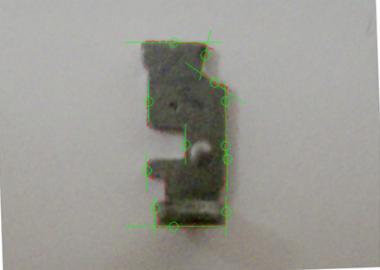 部品の寸法検査