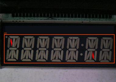 LCDセグメントの欠け検出