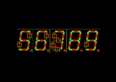LED 7セグメント検査